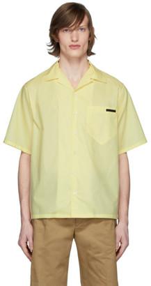 Prada Yellow Chambray Bowling Shirt