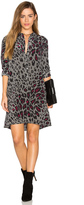 Equipment Clean Lucida Leopard Print Dress