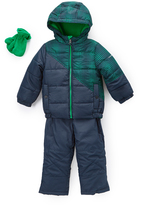 Hawke & Co Atlantic Snowsuit & Gloves Set - Toddler & Boys
