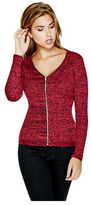 GUESS Women's Malina Zip-Up Sweater