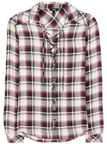 Paige Clea plaid shirt