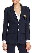 Polo Ralph Lauren Notch Lapel Custom-Fit Blazer