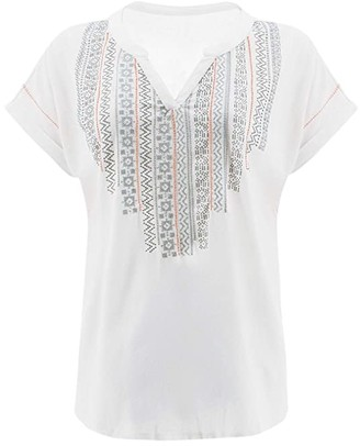 Aventura Clothing Forlani Short Sleeve (White) Women's T Shirt