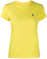 Polo Ralph Lauren logo embroidered slim-fit T-shirt