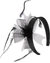 Forever 21 Satin Headband w/ Feather Bow