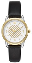 Kate Spade Women's Boathouse Leather Strap Watch, 30Mm
