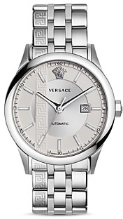 Versace Aiakos Stainless Steel Automatic Watch, 44mm