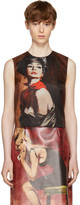 Prada Brown Mikado Girl Tank Top
