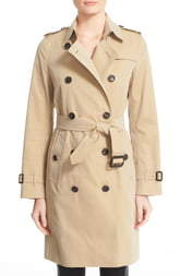 Burberry Kensington Long Trench Coat