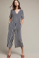 MiH Jeans Hart Striped Silk Jumpsuit