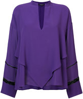 Derek Lam v-neck blouse - women - Silk - 36