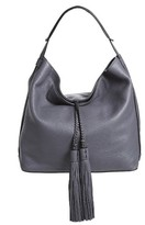 Rebecca Minkoff Isobel Tassel Leather Hobo - Black