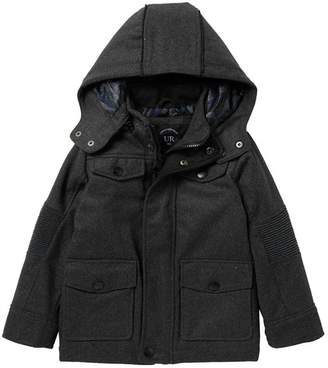 Urban Republic Soft Shell Jacket with Detachable Hood (Toddler & Little Boys)