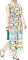 Freeway Aztec Maxi Dress
