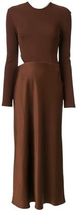 CHRISTOPHER ESBER twisted back dress