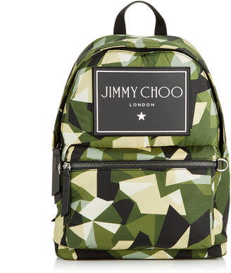 WILMER Army Mix Camo Print Nylon Backpack