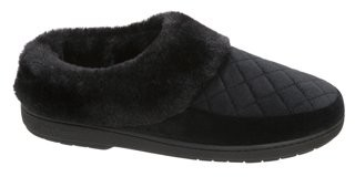Dearfoams Women's Velour Clog Slippers