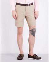 Polo Ralph Lauren Mid-rise Linen Shorts