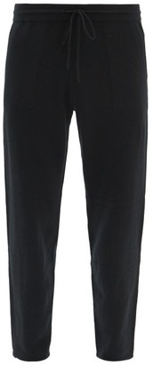 Iris von Arnim Theron Cashmere-blend Track Pants - Black