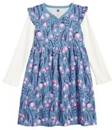 Tea Collection Toddler Girl's Snowdrop Layer Dress
