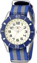 U.S. Polo Assn. Kids' USB75024 Analog Display Analog Quartz Two Tone Watch