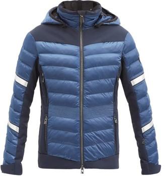 Toni Sailer Madita Quilted Ripstop Ski Jacket - Dark Blue