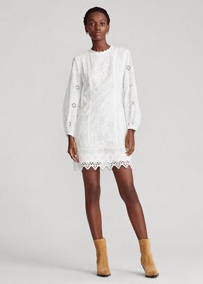Ralph Lauren Eyelet Cotton Dress
