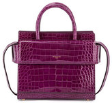 Givenchy Horizon Mini Alligator Satchel Bag, Light Purple