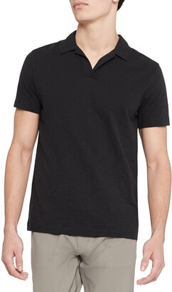 Theory Willem Cosmos Cotton Short Sleeve Polo