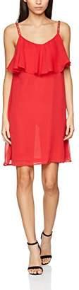 Vero Moda Women's Vmlollie Singlet Short Dress Boo38 (Size: Medium)