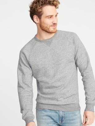 Old Navy Classic Crew-Neck Raglan-Sleeve Sweatshirt for Men