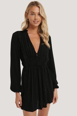 Trendyol Button Detailed Mini Dress