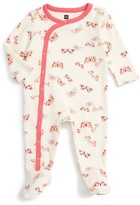 Tea Collection Infant Girl's Flutterby Fitted One-Piece Pajamas