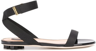 DSQUARED2 Flat Strappy Sandals