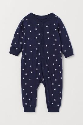 H&M Patterned Pajamas - Blue