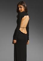 High Low Cutout Back Dress