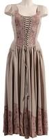 BEIGE Coline Women's Casual Dresses  Lace-Up Maxi Dress - Women