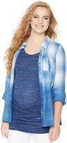 Wendy Bellissimo Maternity Split-Back Shirt