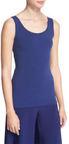 Nic+Zoe Perfect Jersey Scoop-Neck Tank, Abyss, Petite