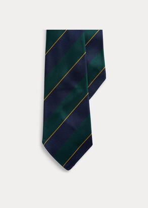 Ralph Lauren Regimental-Stripe Silk Tie