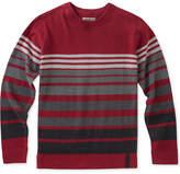 Calvin Klein Marled Stripe Cotton Sweater, Big Boys