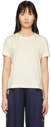 Raquel Allegra Off-White Boy T-Shirt