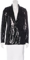 Rachel Roy Structured Sequin Blazer