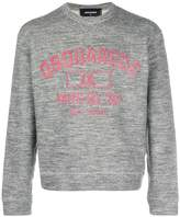 DSQUARED2 Phys Ed print sweatshirt