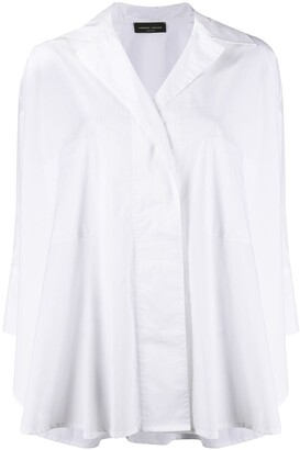 Roberto Collina Loose-Fit Poplin Shirt