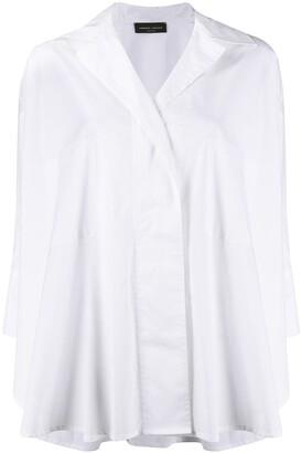 Roberto Collina loose-fit poplin shirt