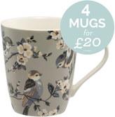 Cath Kidston British Birds Stanley Mug