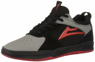Lakai Footwear Proto Black/Grey SUEDESize 14 Tennis Shoe Suede Standard US Width US