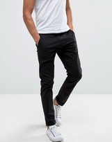 ONLY & SONS Skinny Fit Chinos in Black