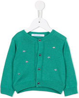 Familiar car intarsia cardigan - kids - Silk/Cotton - 6 mth